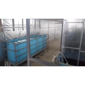 Прямоугольный бассейн: длина 2000 мм, ширина 1000 мм, высота 1000 мм
